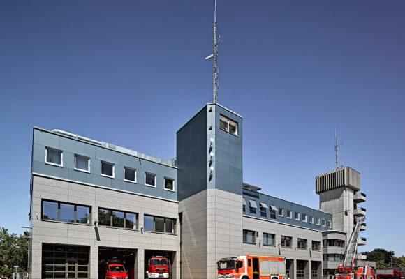 eap Architekten und Stadtplaner, Energetische Fassadensanierung der Berufsfeuerwehr, Ingolstadt
