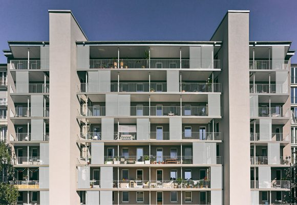 Energetische Sanierung und Balkonerweiterung am Habsburger Platz, München