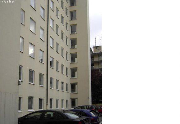 eap Architekten udn Stadtplaner, Energetische Sanierung und Balkonerweiterung am Habsburger Platz, München