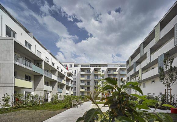 eap Architekten und Stadtplaner, Innerstädtisches Wohnen, Agricolastraße, München, Innenhof