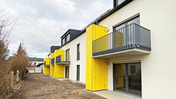 Einweihungsfeier Projekt Sozialer Wohnungsbau für die Stadt Moosburg