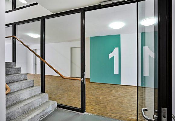 eap Architekten und Stadtplaner, Inklusive Wohnformen, Modellvorhaben, Treppenhaus