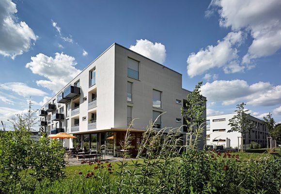 eap Architekten und Stadtplaner, Inklusive Wohnformen, Modellvorhaben, Fassade