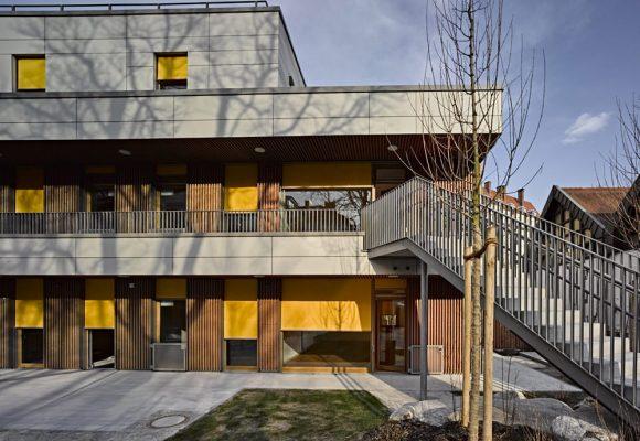 eap Architekten und Stadtplaner, Kinderkrippe Kazmairstrasse, München, Garten