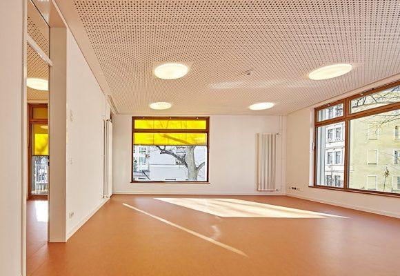 eap Architekten und Stadtplaner, Kinderkrippe Kazmairstrasse, München, Raum