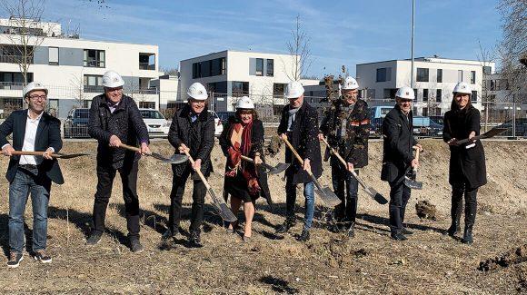 Spatenstich Wohnheim Lebenshilfe Ingolstadt