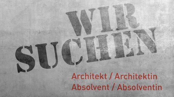 Wir suchen Architekten und Absolventen