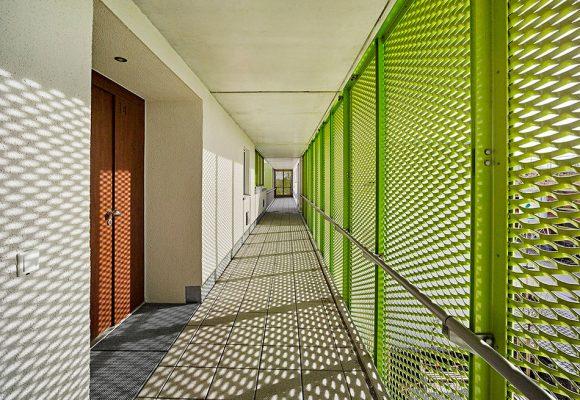 eap Architekten und Stadtplaner, Mehrgenerationenwohnen, Königsbrunn, Balkon