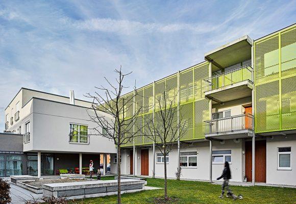eap Architekten und Stadtplaner, Mehrgenerationenwohnen, Königsbrunn, Fassade