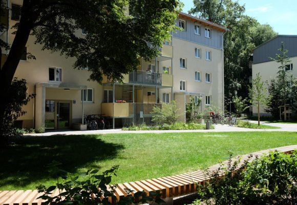 Modernisierung Lilienstrasse, München, Innenhof