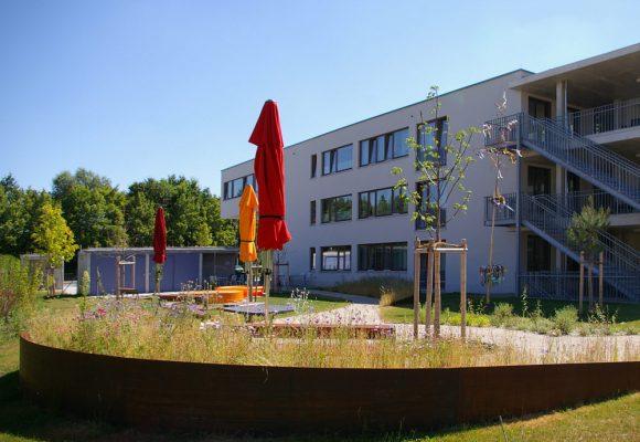 Wohn- und Pflegeheim, Ingolstadt, Garten