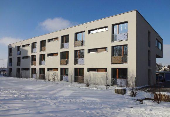 Wohn- und Pflegeheim, Ingolstadt, Fassade