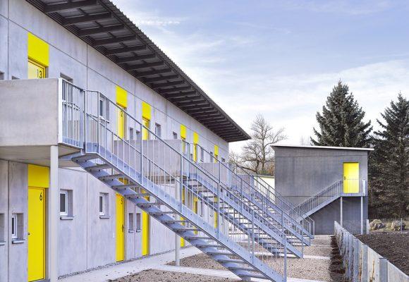 eap Architekten und Stadtplaner, Wohnen für obdachlose Menschen, Ingolstadt, Treppe
